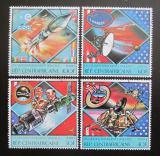 Poštovní známky SAR 1980 Průzkum vesmíru Mi# 663-66