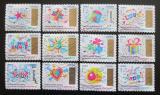 Poštovní známky Francie 2017 Vánoce a Nový rok Mi# 6894-6905 Kat 20€