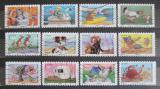 Poštovní známky Francie 2014 Dovolená a prázdniny Mi# 5827-38 Kat 16.80€
