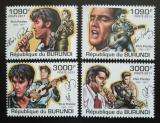 Poštovní známky Burundi 2011 Elvis Presley Mi# 2266-69 Kat 9.50€