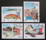 Poštovní známky Kuba 1994 Fauna Karibiku Mi# 3776-79