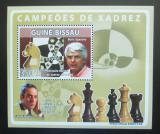 Poštovní známka Guinea-Bissau 2008 Slavní šachisti Mi# 3937 Block