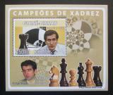 Poštovní známka Guinea-Bissau 2008 Slavní šachisti Mi# 3938 Block