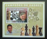Poštovní známka Guinea-Bissau 2008 Slavní šachisti Mi# 3939 Block