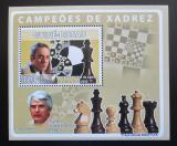 Poštovní známka Guinea-Bissau 2008 Slavní šachisti Mi# 3940 Block