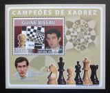 Poštovní známka Guinea-Bissau 2008 Slavní šachisti Mi# 3941 Block