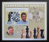 Poštovní známka Guinea-Bissau 2008 Slavní šachisti Mi# 3942 Block