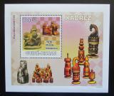 Poštovní známka Guinea-Bissau 2009 Šachové figurky Mi# 4135 Block