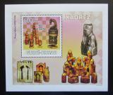 Poštovní známka Guinea-Bissau 2009 Šachové figurky Mi# 4136 Block