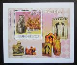 Poštovní známka Guinea-Bissau 2009 Šachové figurky Mi# 4137 Block