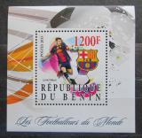 Poštovní známka Benin 2015 Lionel Messi Mi# N/N