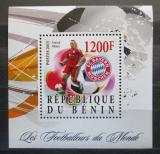 Poštovní známka Benin 2015 Franck Ribéry Mi# N/N