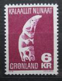 Poštovní známka Grónsko 1978 Tupilak, dřevořezba Mi# 111