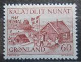 Poštovní známka Grónsko 1970 Osvobození Dánska, 25. výročí Mi# 76