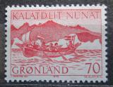 Poštovní známka Grónsko 1972 Poštovní služby v Grónsku Mi# 82