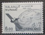 Poštovní známka Grónsko 1985 Televizní satelit Mi# 158