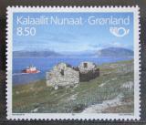 Poštovní známka Grónsko 1993 Ruiny kostela, NORDEN Mi# 235