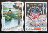 Poštovní známky Finsko 1995 Turistika, NORDEN Mi# 1302-03
