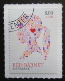 Poštovní známka Dánsko 2013 Dětská organizace Red Barnet Mi# 1741