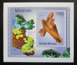 Poštovní známka Guinea-Bissau 2010 Minerály DELUXE Mi# 4987 Block