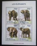 Poštovní známky Pobřeží Slonoviny 2014 Sloni Mi# 1609-12 Kat 8.50€