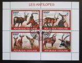 Poštovní známky Togo 2010 Antilopy Mi# 3449-52 Kat 8.50€