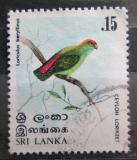 Poštovní známka Srí Lanka 1979 Lorikul srílanský Mi# 513
