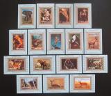 Poštovní známky Adžmán 1973 Savci DELUXE Mi# 2685-2700