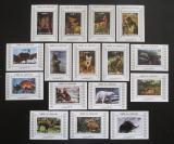 Poštovní známky Umm al-Kuvajn 1972 Fauna DELUXE Mi# 1130-45 Kat 32€