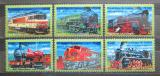 Poštovní známky Guinea 2001 Lokomotivy z celého světa Mi# 3115-20 Kat 23€