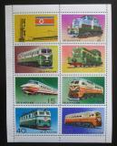 Poštovní známky KLDR 1976 Lokomotivy TOP SET Mi# 1555-61 C Kat 22€