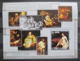 Poštovní známka Svatý Tomáš 2006 Umění, Rembrandt Mi# Block 551 Kat 12€