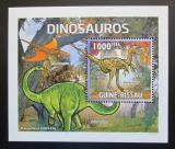Poštovní známka Guinea-Bissau 2011 Dinosauři DELUXE Mi# 5333 Block