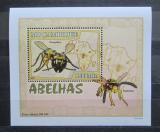 Poštovní známka Mosambik 2007 Včely a vosy DELUXE Mi# 2938 Block