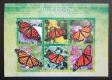 Poštovní známky Eritrea 2017 Motýli neperf. Mi# N/N