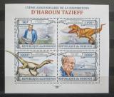 Poštovní známky Burundi 2013 Dinosauři, Tazieff Mi# 3128-31 Kat 8.90€