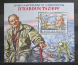 Poštovní známka Burundi 2013 Dinosauři, Tazieff Mi# Block 350 Kat 9€
