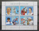 Poštovní známky Kongo Dem. 2006 Belgičtí sportovci Mi# N/N