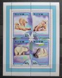 Poštovní známky KLDR 2000 Lední medvědi Mi# Block 450 Kat 10€