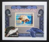 Poštovní známka Guinea 2009 Želvy neperf. DELUXE Mi# 6401 B Block