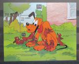 Poštovní známka Gambie 1994 Disney, Pluto Mi# Block 222
