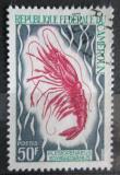Poštovní známka Kamerun 1968 Plesiopenaeus edwardsianus Mi# 548