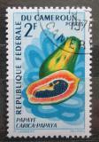 Poštovní známka Kamerun 1967 Papája Mi# 507