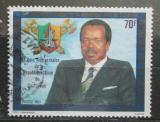 Poštovní známka Kamerun 1983 Prezident Paul Biya Mi# 1009