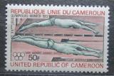 Poštovní známka Kamerun 1972 LOH Mnichov, plavání Mi# 700