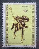 Poštovní známka Kamerun 1971 Africké umění Mi# 668