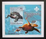 Poštovní známka Guinea-Bissau 2005 Želvy DELUXE neperf. Mi# 3225 B Block