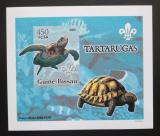 Poštovní známka Guinea-Bissau 2005 Želvy DELUXE neperf. Mi# 3226 B Block