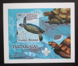 Poštovní známka Guinea-Bissau 2005 Želvy DELUXE neperf. Mi# 3227 B Block