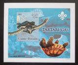 Poštovní známka Guinea-Bissau 2005 Želvy DELUXE neperf. Mi# 3228 B Block